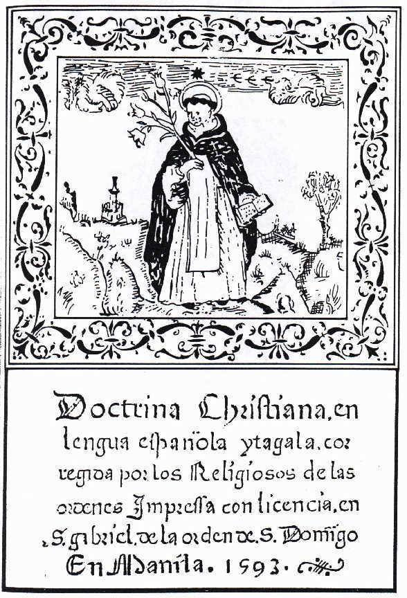 직지, Jikji » Doctrina Christiana en lengua Espanola y tagala, the